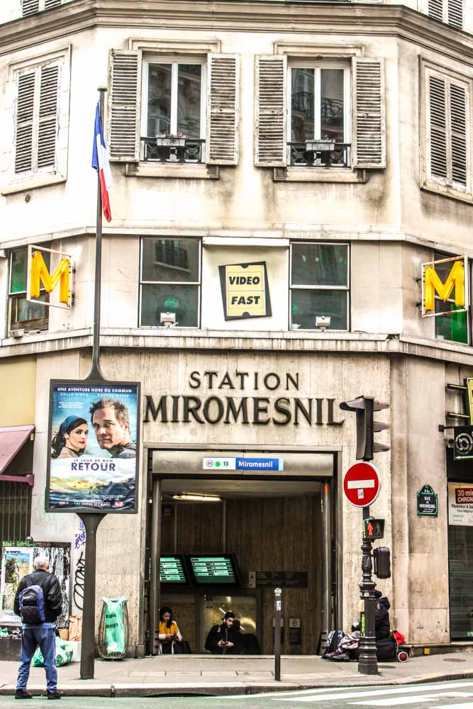 miromesnil paris metro station
